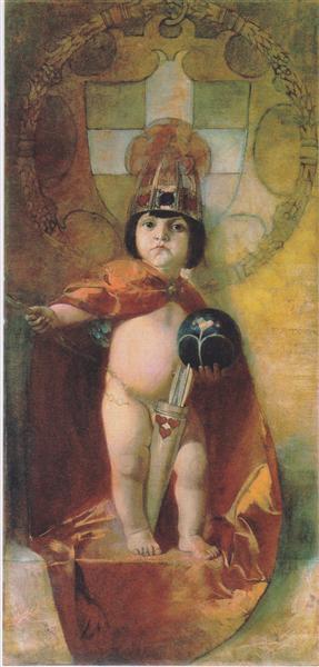 Amor Imperator - Франц фон Штук