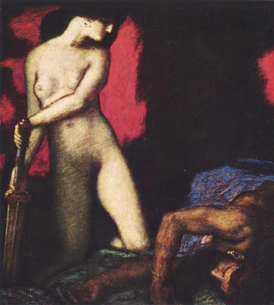 Judith and Holofernes, 1927 - Franz Stuck