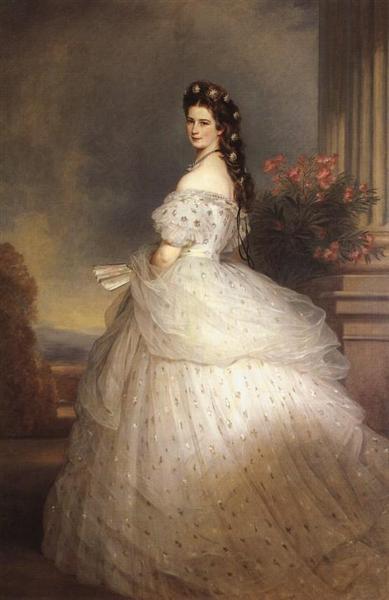 Elizabeth, Empress of Austria, 1865 - Franz Xaver Winterhalter