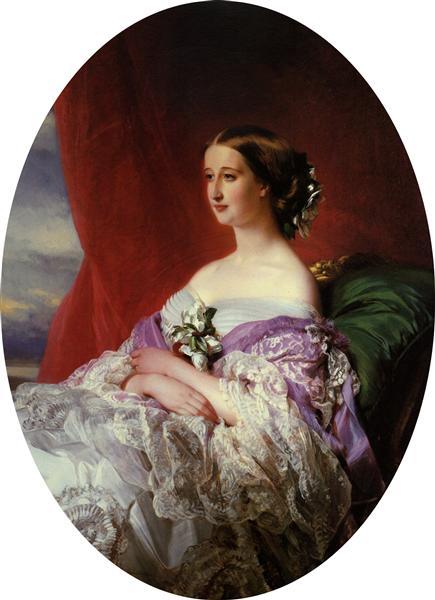 Empress Eugenie - Franz Xaver Winterhalter