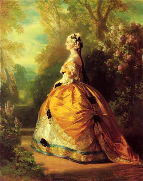 The Empress Eugénie - Franz Xaver Winterhalter