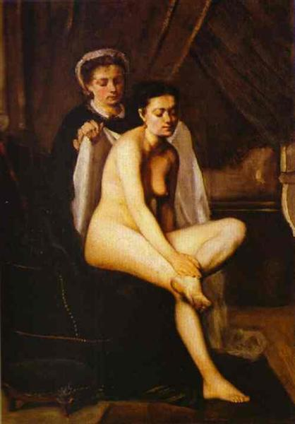 After the Bath, 1870 - Frederic Bazille