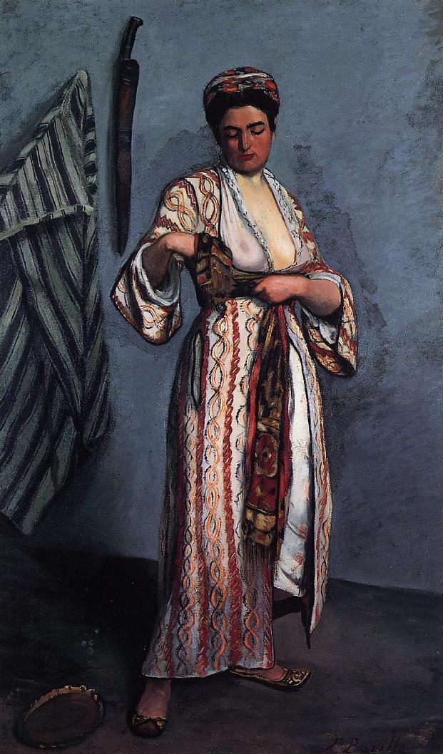 Woman in Moorish Costume