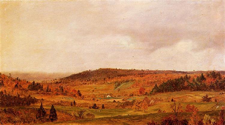 Autumn Shower, 1859 - Фредерик Эдвин Чёрч
