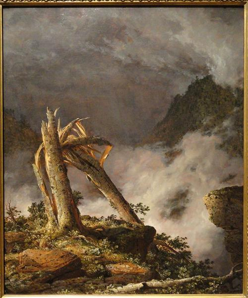 Storm in the Mountains, 1847 - Frederic Edwin Church