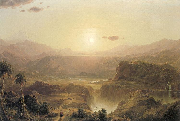 Les Andes d'Équateur, 1855 - Frederic Edwin Church