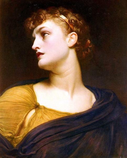 Antigone, 1882 - Фредерік Лейтон