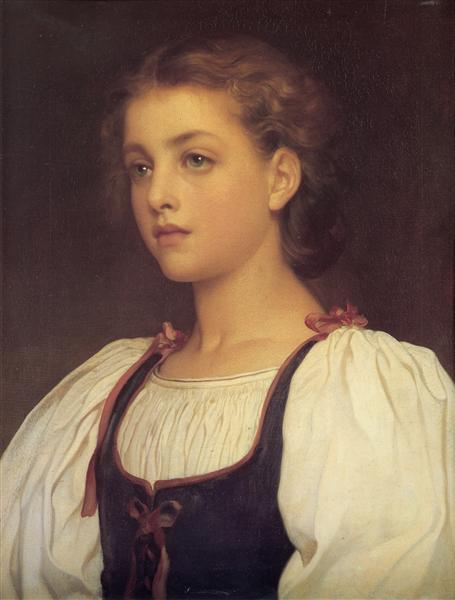 Biondina, 1879 - Frederic Leighton