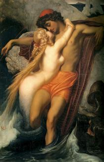 The Fisherman and the Syren. - Frederic Leighton