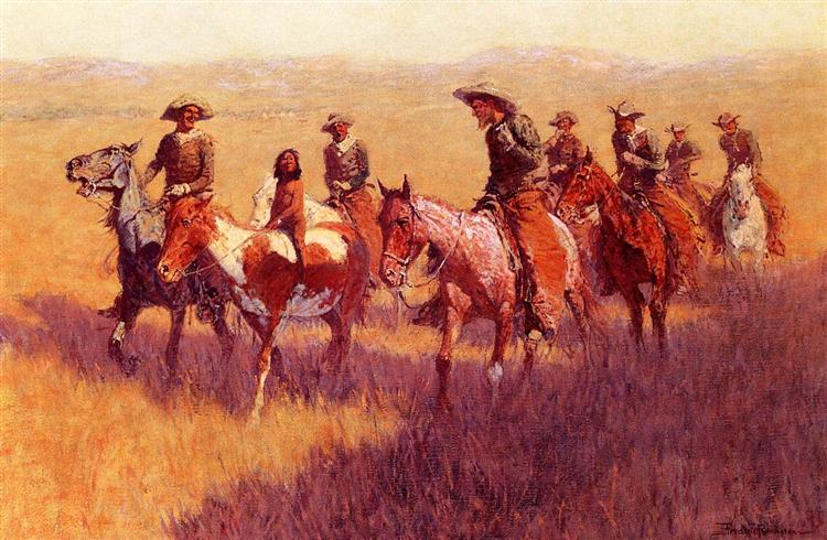 An Assault on His Dignity, 1906 - Frederic Remington