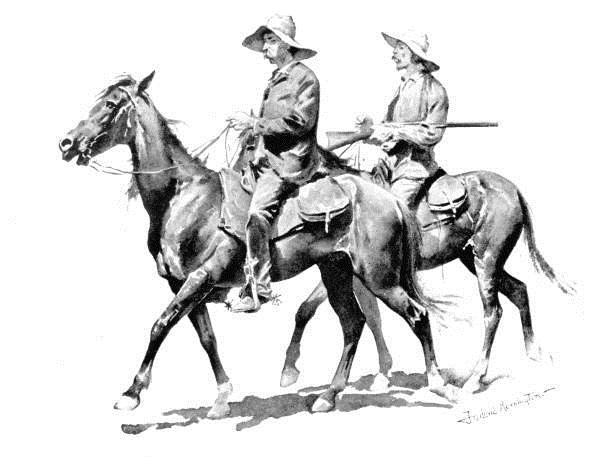 Cracker Cowboys of Florida, 1895 - Frederic Remington