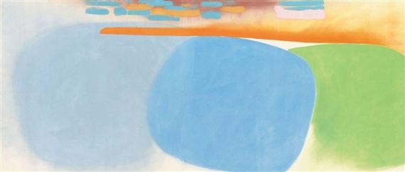 East Journey, 1968 - Friedel Dzubas