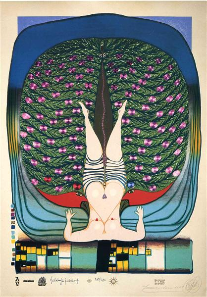 715 Homage to Schröder-Sonnenstern, 1972 - Friedensreich Hundertwasser