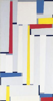 Relational Painting #55 - Fritz Glarner