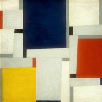Relational Painting #64 - Fritz Glarner