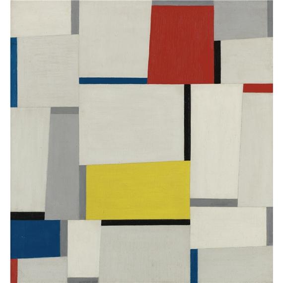 Relational Painting #65, 1953 - Fritz Glarner