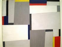 Relational Painting #73 - Fritz Glarner