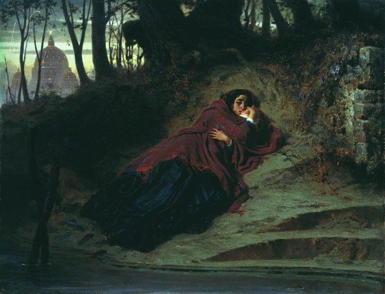 Abandoned, 1873 - Fyodor Bronnikov