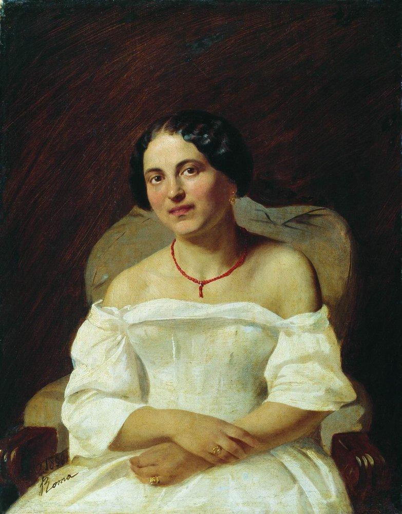 Portrait of a Woman in White, 1859