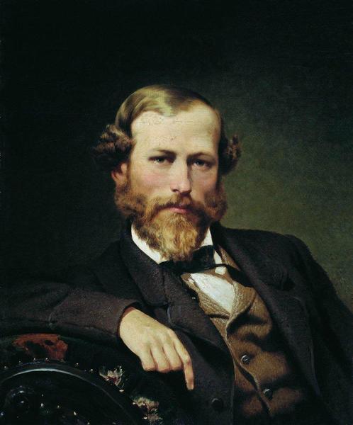 Portrait of the Artist K.D. Flavitsky, 1873 - Fyodor Bronnikov
