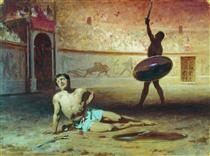 The Dying Gladiator - Fyodor Bronnikov