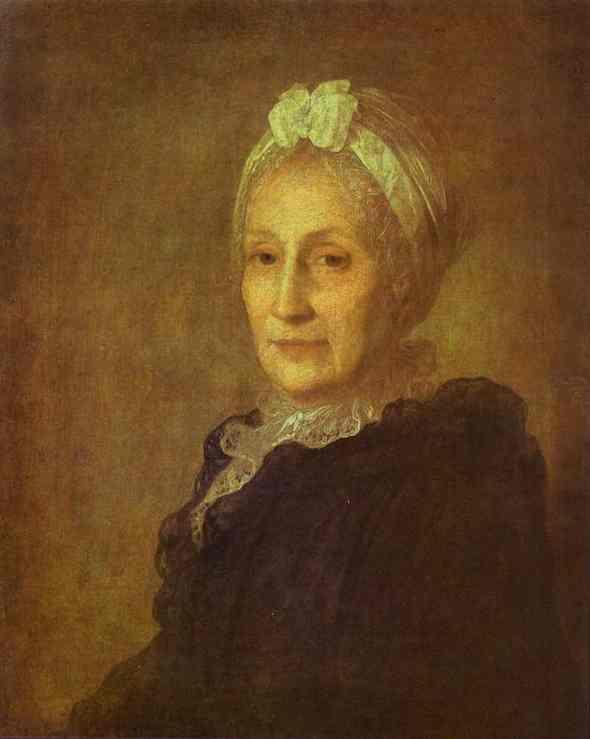 Portrait of Anna Yuryevna Kvashnina-Samarina, 1770