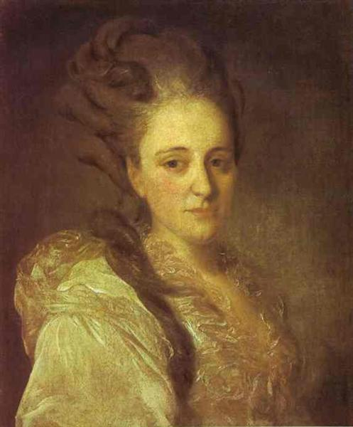 Portrait of V.A.Obreskova, 1777 - Fyodor Rokotov