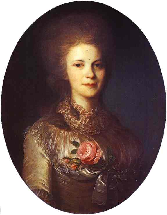 Portrait of V.N.Surovtseva, 1780