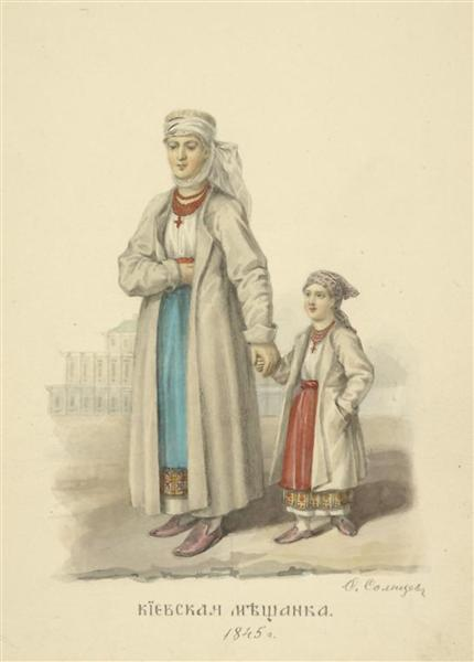 Kiev Philistine - Fyodor Solntsev