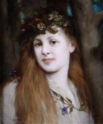 Ophelia - Gabriel von Max