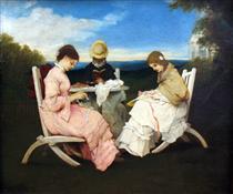 The Sisters - Gabriel von Max