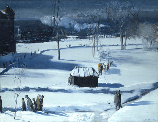 Blue Snow, The Battery, 1910 - George Bellows