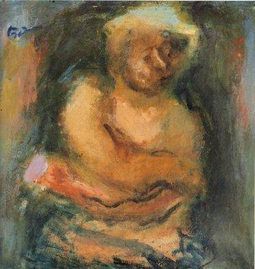 Woman figure, 1939 - George Bouzianis