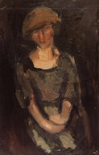Portrait of a woman, 1917 - George Bouzianis