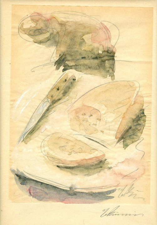Still Life with Cheese Bread, 1929-1932