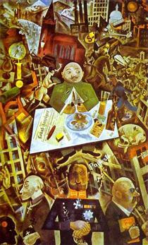 George Grosz - 258 œuvres d'art - peinture