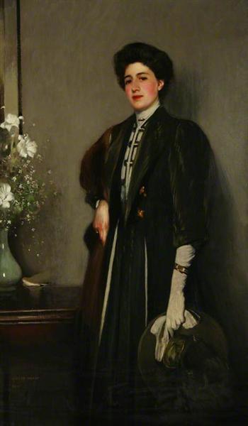 The Green Hat, 1906 - Джордж Генрі