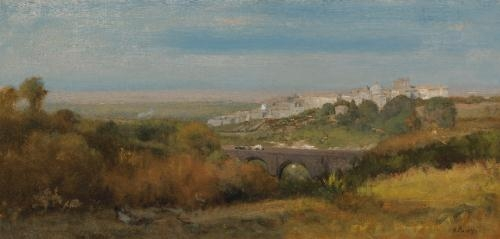 Albano, Italy (The Roman Campagna), 1874 - George Inness