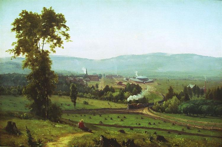 The Lackawanna Valley, 1855 - Джордж Иннесс