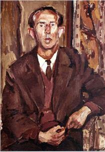 Portrait of Andreas Vurlumis - George Mavroides
