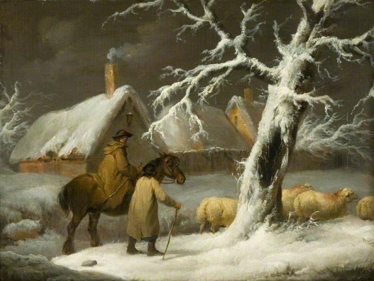 Winter Landscape - George Morland