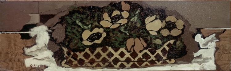 Basket with anemones, 1924 - Georges Braque