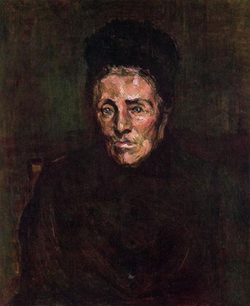 Grandmother's Friend, 1900 - Georges Braque