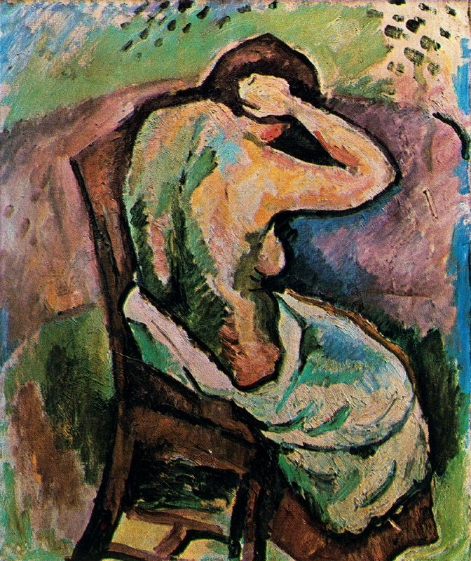 Seated woman, 1907