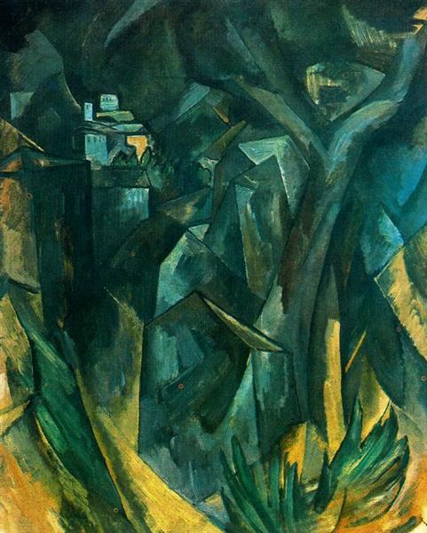 The City on the Hill, 1909 - Georges Braque