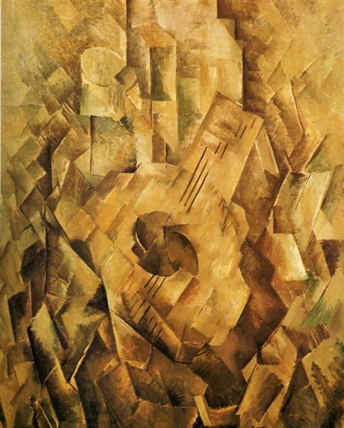 The Mandola, 1910 - Georges Braque