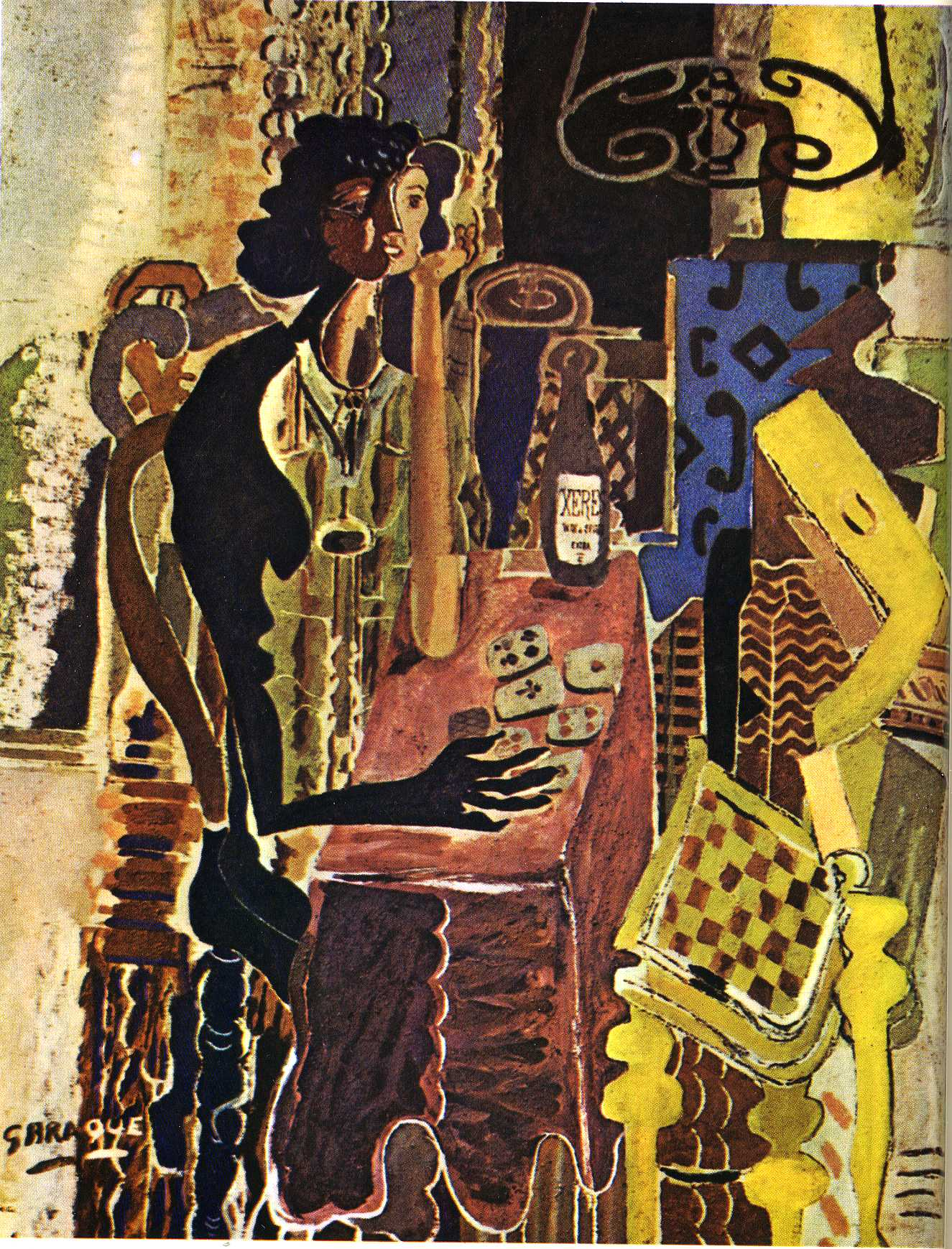 The Patience, 1942 - Georges Braque - WikiArt.org
