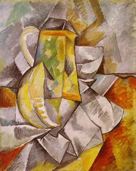 The pitcher - Braque Georges
