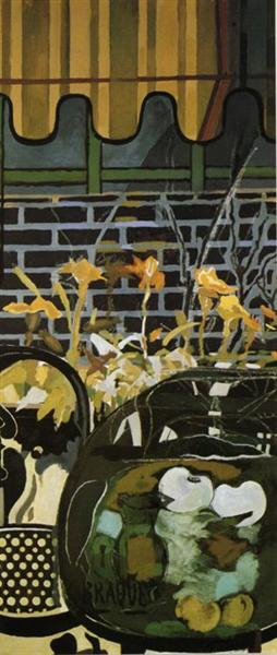 The Window Shade, c.1955 - Georges Braque