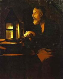 Tears of St. Peter - Georges de la Tour